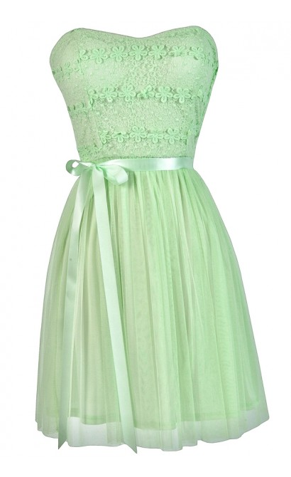 Mint Lime Summer Dress, Mint Lime Party Dress, Mint Lime A-Line Dress, Cute Summer Dress, Mint Lime Bridesmaid Dress, Cute Mint Lime Dress, Cute Party Dress, Cute Summer Dress