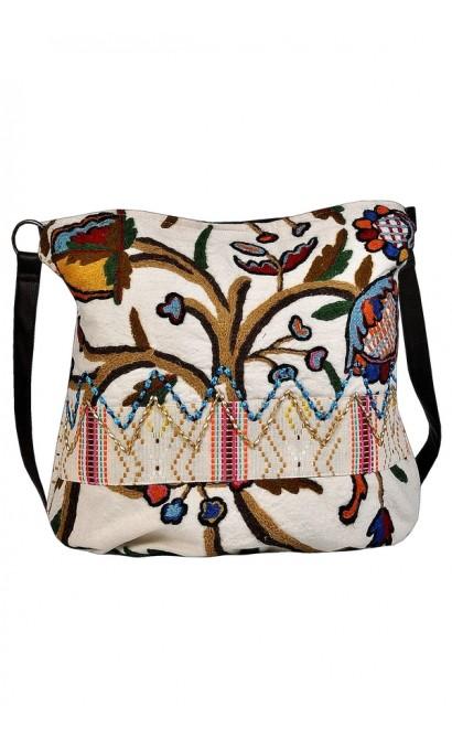 Cute Summer Purse, Bohemian Purse, Hippie Purse, Cute Handbag, Embroidered Purse, Embroidered Handbag, Cute Travel Carry On Purse, Carry On Tote