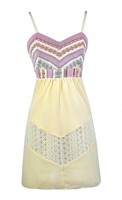 Purple and Cream Dress, Lavender and Cream Dress, Lilac and Cream Dress, Cute Lavender Dress, Cute Lilac Dress, Purple Embroidered Sundress, Cute Summer Dress, Cute Boho Dress, Boho Sundress, Boho Embroidered Dress