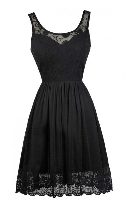 Black Party Dress, Little Black Dress, Online Boutique