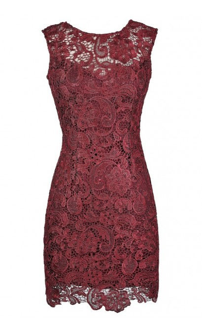 Burgundy Lace Dress, Red Lace Dress, Cute Holiday Dress, Cute Christmas Dress, Red Lace Sheath Dress, Burgundy Lace Sheath Dress, Burgundy Lace Cocktail Dress, Burgundy Lace Party Dress, Red Lace Party Dress, Red Lace Cocktail Dress