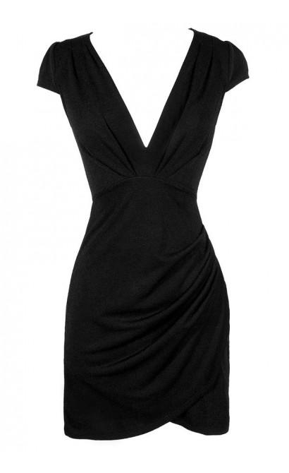 Cute Black Dress, Little Black Dress, Black Capsleeve Dress, Cute Black Dress, Black Pencil Dress, Black Capsleeve Pencil Dress, Black Cocktail Dress, Black Party Dress, Black Bodycon Dress