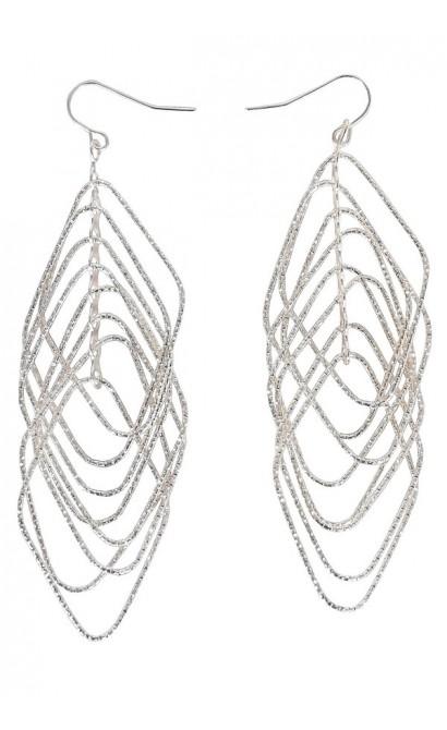 Cute Silver Earrings, Silver Dangle Earrings, Cute Jewelry, Cute Silver Jewelry, Cute Earrings, Silver Dangle Earrings