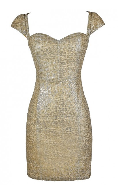 Gold Sequin Dress, Gold Pencil Dress, Gold Party Dress, Gold Cocktail Dress, Cute New Years Dress, Cute Holiday Dress, Gold Sequin Cocktail Dress, Gold Sequin Party Dress