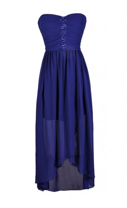 Cute Blue Dress, Royal Blue Dress, Bright Blue Dress, Royal Blue High Low Dress, Bright Blue High Low Dress, Royal Blue Maxi Dress, Bright Blue Maxi Dress, Bright Blue Rhinestone Dress, Bright Blue Chiffon Dress, Bright Blue Cocktail Dress, Bright Blue Pa