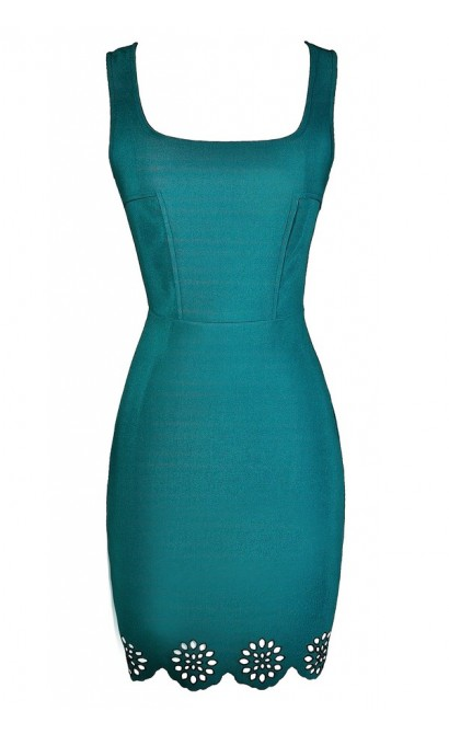 Teal Party Dress, Jade Party Dress, Teal Cocktail Dress, Jade Cocktail Dress, Fitted Teal Dress, Fitted Jade Dress, Teal Bodycon Dress, Jade Bodycon Dress, Teal Pencil Dress, Jade Pencil Dress, Cute Summer Dress, Teal Summer Dress