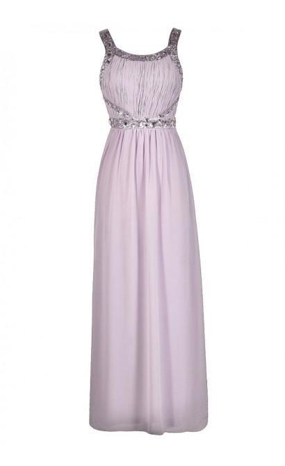 Purple Prom Dress, Lavender Prom Dress, Lavender Maxi Dress, Purple Maxi Dress, Purple Beaded Dress, Lavender Beaded Dress, Purple Floor Length Dress, Lavender Floor Length Dress