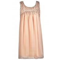 Cute Pink Dress, Pink Party Dress, Pink Trapeze Dress