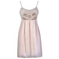 Beige and Gold Dress, Beige Embellished Dress, Cream and Gold Summer Dress, Beige Boho Glam Dress, Beige Hippie Dress, Hippie Summer Dress, Cream Summer Dress