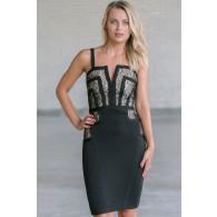 Black Bandage Dress Online, Little Black Cocktail Dress, Juniors Dress Online
