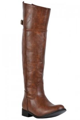 Cognac Riding Boot, Tan Riding Boot, Cute Fall Boots