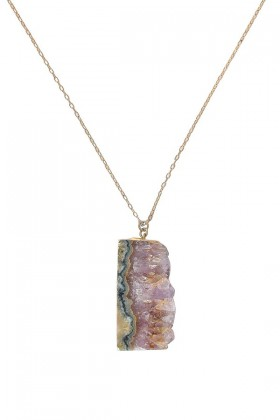 Rough Stone Necklace, Purple Mineral Necklace, Rough Mineral Necklace, Rough Stone Necklace, Amethyst Mineral Necklace, Amethyst Purple Necklace, Cute Necklace, Cute Jewelry, Cute Mineral Necklace