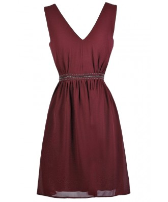 Cute Party Dress, Burgundy Party Dress, Maroon Party Dress, Burgundy Cocktail Dress, maroon Cocktail Dress, Cute Burgundy Dress, Cute Maroon Dress, Burgundy Bridesmaid Dress, Maroon Bridesmaid Dress