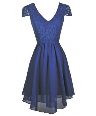 Blue Bridesmaid Dress, Blue Capsleeve Dress, Blue Party Dress, Bright Blue Bridesmaid Dress, Royal Blue Bridesmaid Dress, Bright Blue Party Dress, Royal Blue Cocktail Dress, Bright Blue Summer Dress, Cute Blue Dress