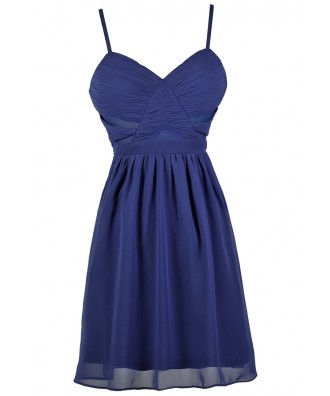 Bright Blue Dress, Royal Blue Dress, Cute Blue Dress, Bright Blue Party Dress, Royal Blue Party Dress, Bright Blue Cocktail Dress, Royal Blue Cocktail Dress, Bright Blue Summer Dress, Royal Blue Summer Dress