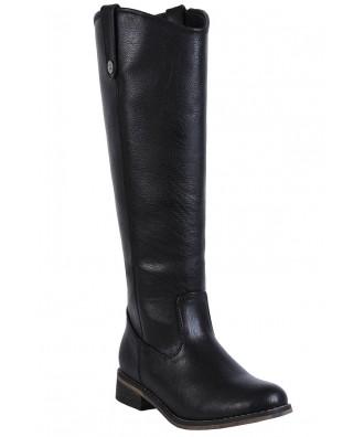 Black Riding Boots, Cute Fall Boots, Cute Black Boots