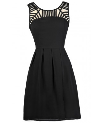 Black Party Dress, Cute Black Dress, Little Black Dress, Black Sundress