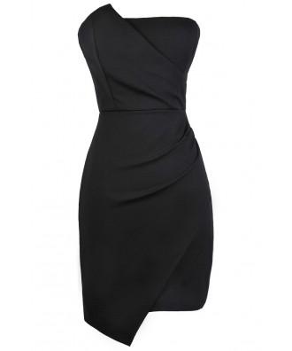 Cute Black Dress, Little Black Dress, Black Party Dress, Black Cocktail Dress