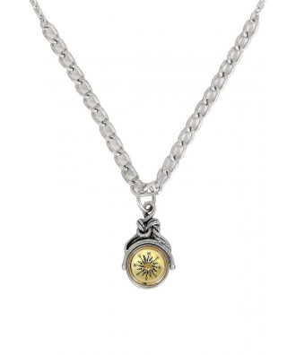 Cute Compass Necklace, Compass Pendant, Compass Jewelry, Compass Chain Necklace