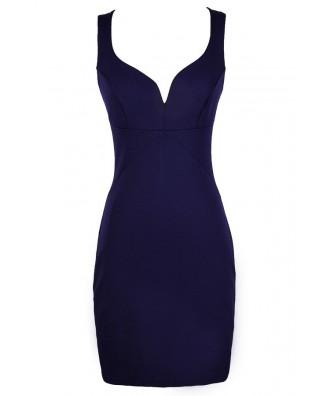 Cute Purple Dress, Purple Cocktail Dress, Purple Party Dress, Purple Bodycon Dress, Purple Fitted Dress