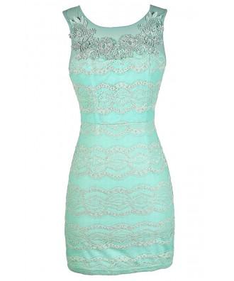 Mint Lace Dress, Fitted Mint Lace Dress, Mint Lace Bodycon Dress, Mint Lace Party Dress, Mint Lace Summer Dress