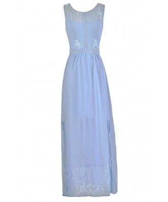 Blue Maxi Dress, Sky Blue Maxi Dress, Pale Blue Maxi Dress, Cute Blue Summer Dress, Pale Blue Maxi Bridesmaid Dress, Sky Blue Maxi Bridesmaid Dress, Cute Blue Dress, Light Blue Maxi Dress