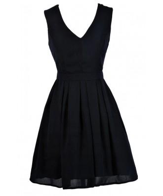 Cute Navy Dress, Dark Navy Dress, Navy A-Line Dress, Navy Party Dress, Navy Cocktail Dress, Navy Bridesmaid Dress
