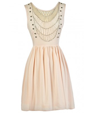 Pale Pink Dress, Cute Summer Dress, Light Pink Dress, Cute Casual Dress