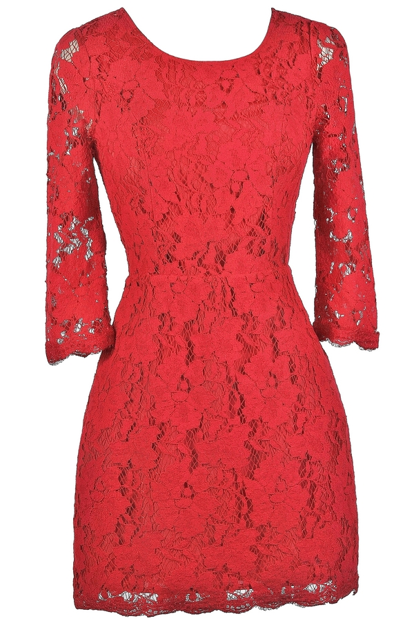 46f263a2ea13 Cute Red Dress