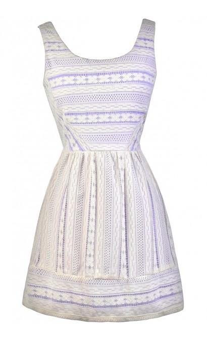 Purple Lace Dress, Lavender Lace Dress, Purple and Off White Lace Dress, Purple and Ivory Lace Dress, Cute Summer Dress, Cute Party Dress, Purple Sundress, Purple and Off White Summer Dress