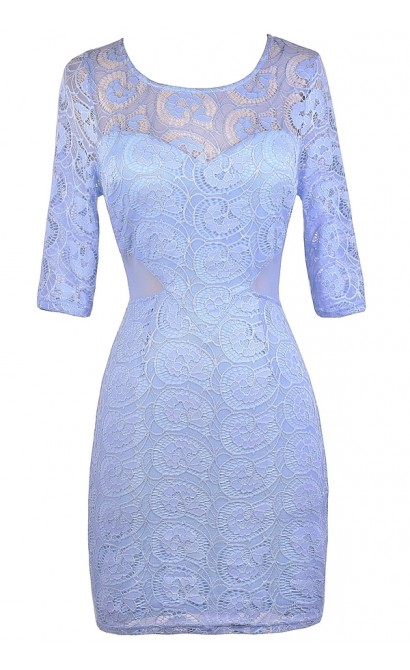 Sky Blue Lace Dress, Pale Blue Lace Dress, Light Blue Lace Dress, Sky Blue Lace Sheath Dress, Pale Blue Lace Sheath Dress, Fitted Blue Lace Dress, Sky Blue Summer Dress, Pale Blue Summer Dress, Sky Blue Cocktail Dress, Pale Blue Cocktail Dress, Sky Blue P