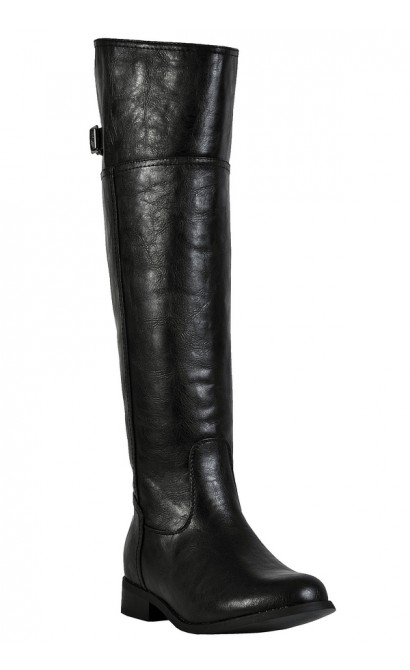 Cute Fall Boots, Black Riding Boots