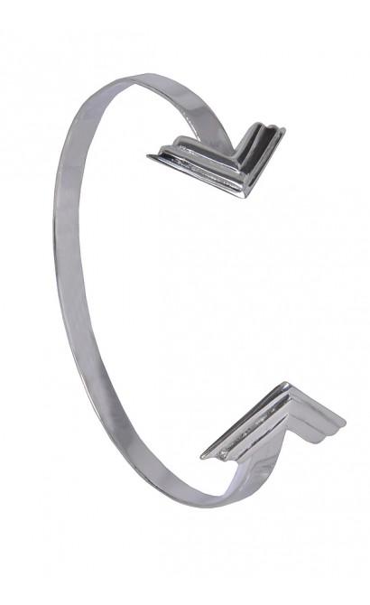 Cute Silver Cuff Bracelet, Arrow Bracelet, Boho Jewelry