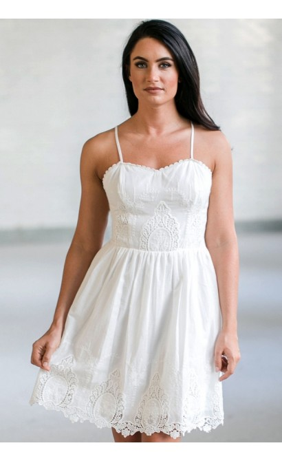 d55d844eeb7 White Eyelet Dress