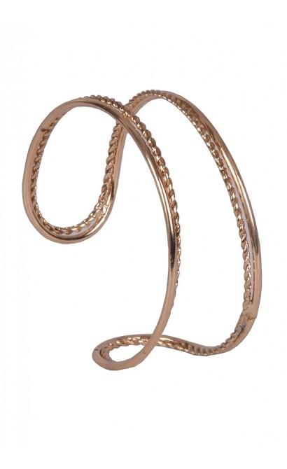 Gold Open Cuff Bracelet, Cute Jewelry, Gold Jewelry