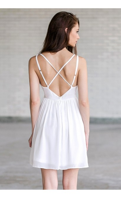 428a044585d Ivory Sundress