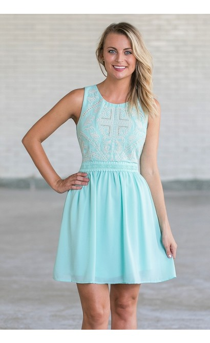 Pale Blue Sundress