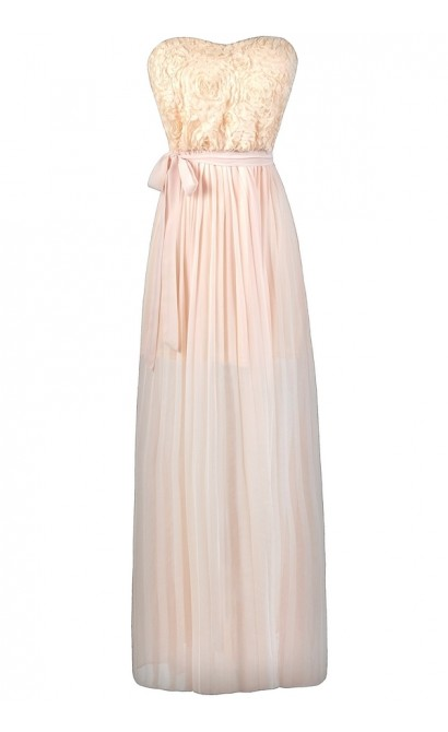 255a92079fc3 Pale yellow maxi bridesmaid dress