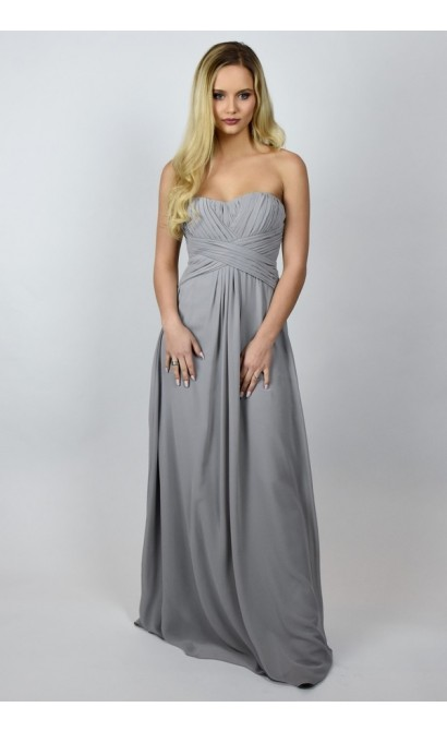 13ff359eb27bd Grey Maxi Bridesmaid Dress | Cute Affordable Grey Bridesmaid Dress ...