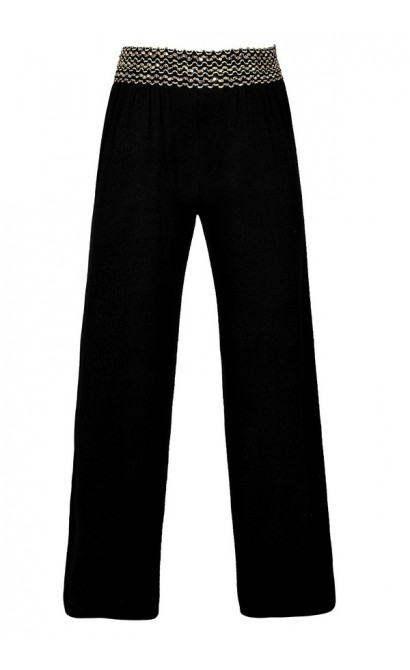 Black Palazzo Pants, Black Sweatpants, Black Comfy Pants, Black Wide Leg Pants, Black and Gold Palazzo Pants, Black and Gold Sequin Palazzo Pants