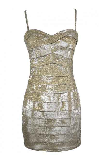 Cute Gold Dress, Gold Party Dress, Cute New Years Dress, Cute Party Dress, Gold Bodycon Dress, Fitted Gold Dress, Tiered Gold Dress