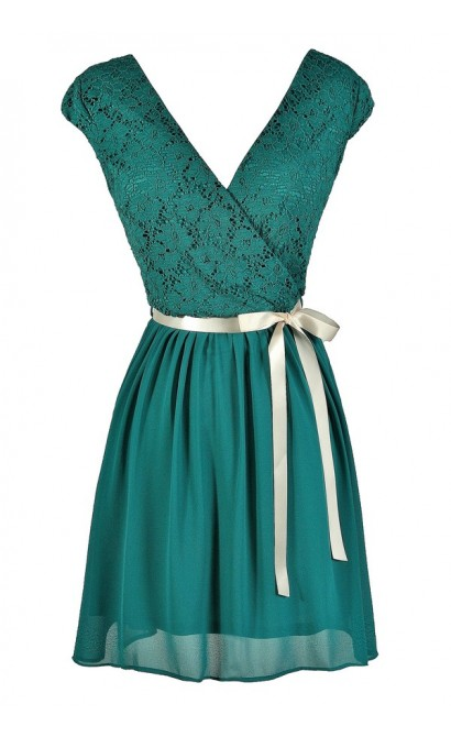 Jade Lace Dress, Jade Lace Party Dress, Jade Lace Capsleeve Dress, Teal Lace Dress, Teal Lace A-Line Dress, Teal Lace Capsleeve Dress