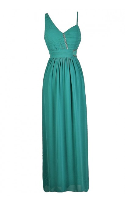 Teal Maxi Dress, Teal Prom Dress, Teal Formal Dress, Jade Maxi Dress, Jade Prom Dress, Jade Formal Dress, Embellished Prom Dress, Embellished Maxi Dress, Green Prom Dress, Green Maxi Dress, Green Formal Dress