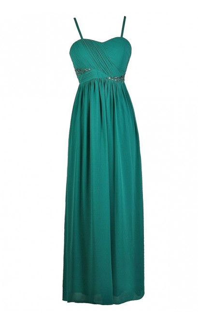 Jade Maxi Dress, Teal Maxi Dress, Jade Prom Dress, Teal Prom Dress, Teal Formal Dress, Jade Formal Dress, Teal Embellished Maxi Dress, Jade Embellished Prom Dress