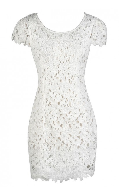 ivory lace dress cute ivory dress ivory lace capsleeve pencil dress white lace