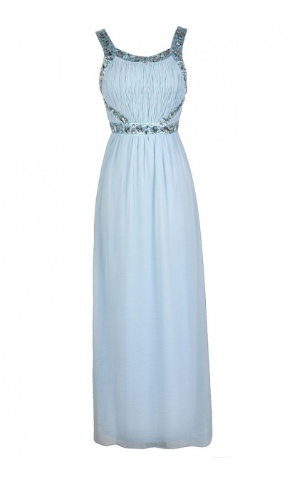 Pale Blue Prom Dress 863637542