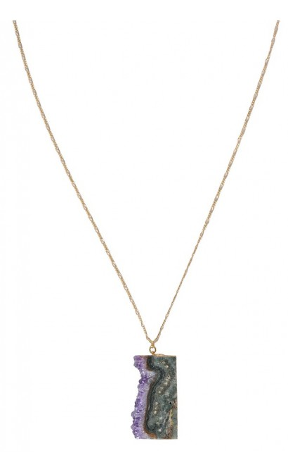 Purple mineral necklace amethyst crystal necklace rough amethyst rough amethyst necklace amethyst crystal necklace purple gemstone necklace purple crystal necklace aloadofball Image collections