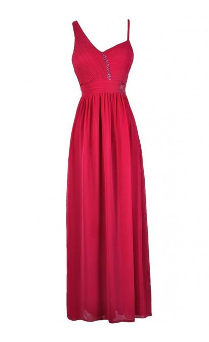 Hot Pink Maxi Dresses