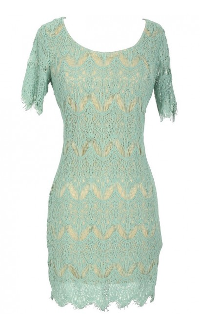 Charleston Eyelash Lace Designer Dress