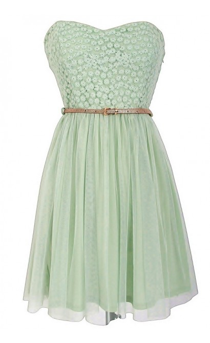 Boho Glam Dress in Sage